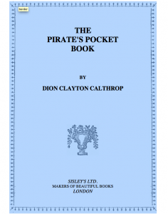 BOOK: The Pirate's Pocket Book
